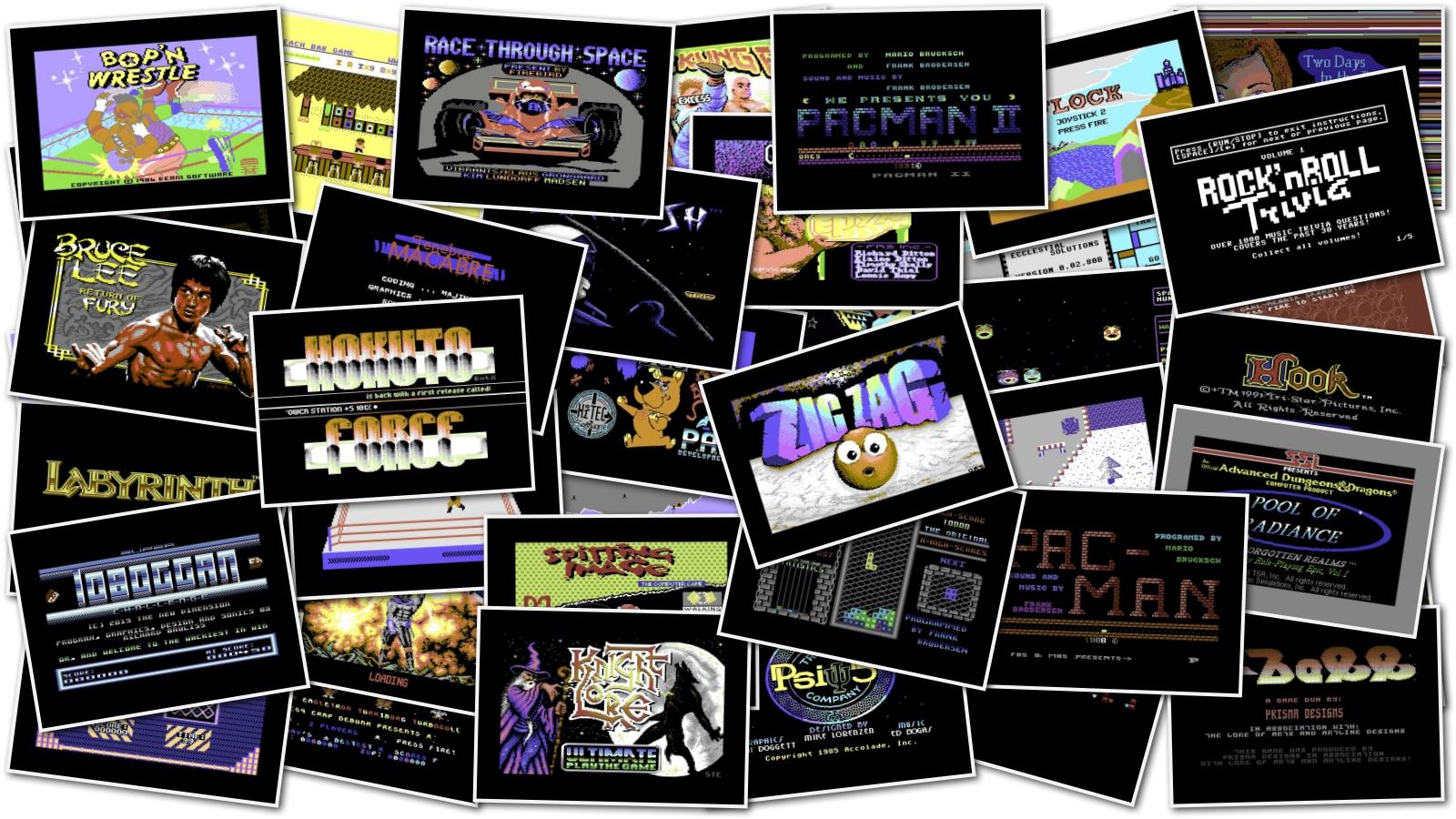 C64 Big Game Pack | nIGHTFALL Blog / RetroComputerMania com